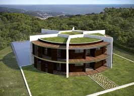 architect designs architect designs a soccer shaped house for footballer