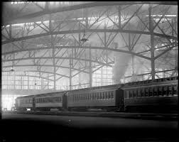 Massachusetts Travelers Stock images Historic photos south station jpg