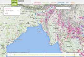 Map Burma Myanmar Environmental Profile