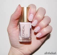dupe essie ballet slippers vs l u0027oreal how romantic nail polish