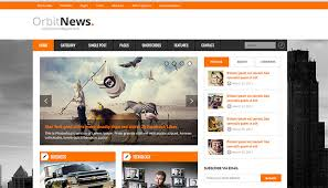 contoh web design dengan html 30 best news and magazine website html templates templatemag