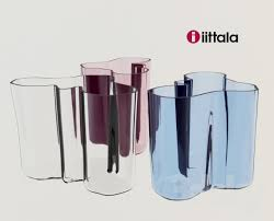 Iittala Aalto Vase 3d Models Vase Iittala Alvar Aalto Vase Medium