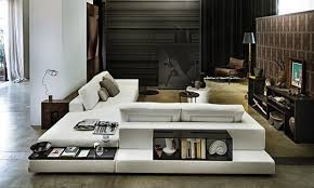 low profile style plat sectional from arketipo