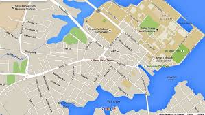 George Washington Bridge Map by Annapolis Maps Downtown And The Surrounding Area