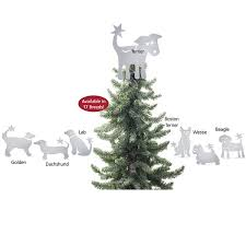 very cool christmas tree topper for dog lovers tree toppers