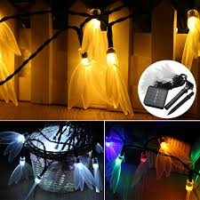 led cer awning lights solar powered led fairy string lights battery electric power garden