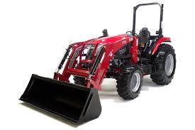 tx55 compact utility tractor front end loader attachment