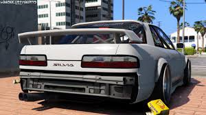 modified nissan 240sx 1989 nissan 240sx s13 onevia gta5 mods com