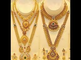 new gold set new gold haram necklace set designs