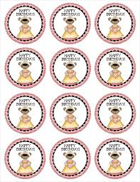 birthday cupcake toppers free printables