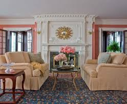 Coral Colored Area Rugs by Baroque Coral Area Rugs Vogue Philadelphia Beach Style Bedroom