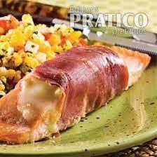 cuisine pavé de saumon pavés de saumon au fromage fondant et prosciutto recettes