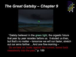 The Green Light Great Gatsby Tuesday March 8 2011 Good Morning English 11 Ppt Download