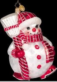 christopher radko snowman ornaments jolly jelly roll radko