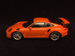 orange porsche 911 gt3 rs porsche 911 gt3 rs type 991 2014 orange gulf 1 43 minichamps