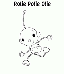 rolie polie olie coloring pages coloring
