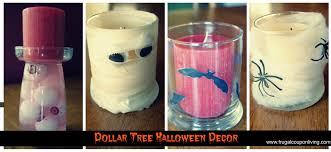 dollar tree halloween decor u2013 decorate with spooky candles on a budget