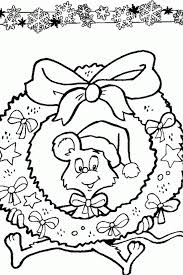 wreath images coloring