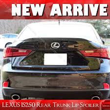 lexus is350 trunk painted for lexus is250 is350 is f window rear trunk lip spoiler