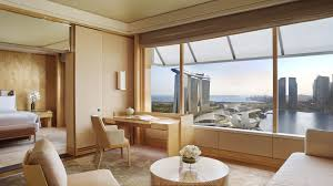 luxury suites in singapore the ritz carlton millenia singapore