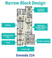 Narrow Block Floor Plans 19 Best Narrow Block Plans Images On Pinterest Architecture
