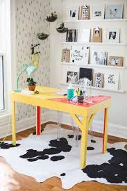 Beautiful Desk Diy Colorful Epoxy Topped Desk U2013 A Beautiful Mess