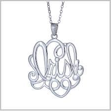 necklace monogram monogram jewelry monogram necklace monogrammed jewelry