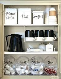 inside kitchen cabinets ideas kitchen coffee station coffee station inside kitchen cabinets