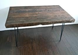 Large Wooden Desk 33 Stunning Reclaimed Wood Desks