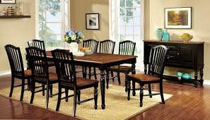 Vintage Oak Dining Chairs 7 Pc Mayville Collection