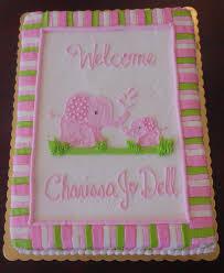 photo elephant baby shower cake pictures image
