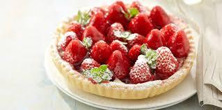 cuisine aux fraises tarte aux fraises de plougastel facile recette sur cuisine actuelle
