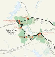 World Of Work Map by Maps Fredericksburg U0026 Spotsylvania National Military Park U S