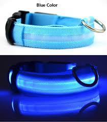 light up collar amazon amazon supplier spot supplies led dog collar multicolor rainbow