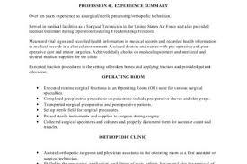 Sample Resume For Sterile Processing Technician sterile processing technician sample resume funny doblelolcom