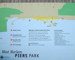 Hudson River Map West Harlem Piers Park Map Hudson River New York City Flickr