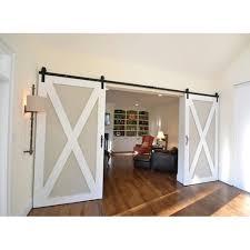 amazon com winsoon double 8ft barn wood door hardware american