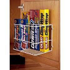 Best Storage For My Drawerless Kitchen Images On Pinterest - Kitchen cabinet door organizer