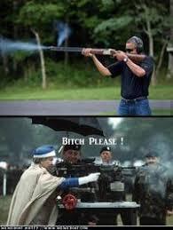 Obama Shooting Meme - obama skeet shooting photo image gallery know your meme