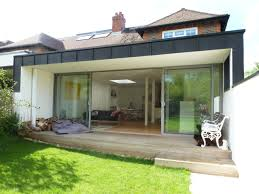 flat roof extension with glass balcony google search balcony