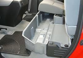 Minivan Interior Accessories Du Ha Toyota Tundra Under Seat Storage Bin Autotrucktoys Com