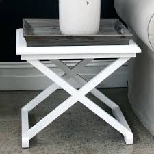 Argos Side Tables White Round Side Table With Drawer Pebble Beach Side Table