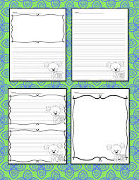 snowman writing paper printable free writing paper writing journal templates make your own journal earth day writing paper for kindergarten and beyond make writing earth day writing paper 4 pages