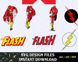 the flash svg logos and figures svg png t