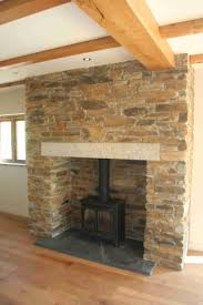 Tiled Fireplace Wall by 37 Best Hearth Images On Pinterest Wood Stoves Fireplace Ideas
