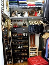 diy shoe organizer for small closet home design ideas