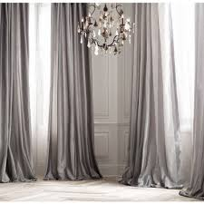 Dupioni Silk Drapes Discount Platinum Silk Curtain Dupioni Silk Grey Silver Window Dressing