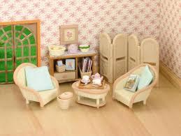 Living Room Toy Set Carameloffers - Sylvanian families luxury living room set