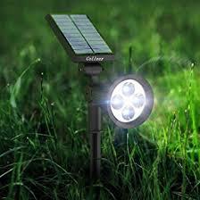 spot lights for yard 2016 upgraded led solar spot lights solar powered garden outdoor
