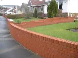 garden brick wall design ideas brick garden wall home design furniture decorating unique with